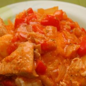 Рецепты испанской кухни - Гуляш из индейки