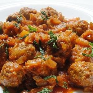 Рубленое мясо (фарш) - гупта (тефтели) из баранины