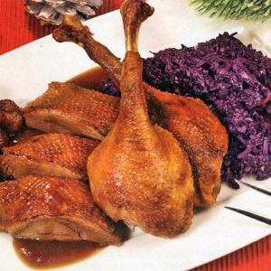Рецепты из мяса птицы - Гусь в пиве