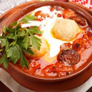 Рецепты балканской кухни - гювеч