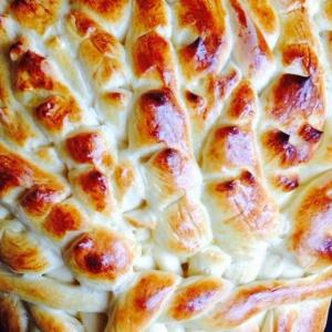 Рецепты еврейской кухни - Хала-колосья