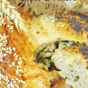 Мак - Хлебная плетёнка