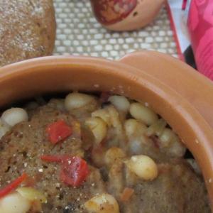 Рецепты прибалтийской кухни - Хлебный суп с фасолью и помидорами