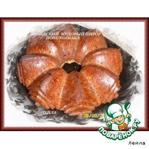 Рецепты скандинавской кухни - Honungskaka - шведский медовый пирог