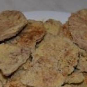 Маргарин - Хрустящее печенье в микроволновке