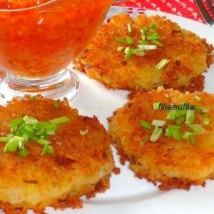 Чечевица - Имбирно-картофельные котлеты с чечевицей