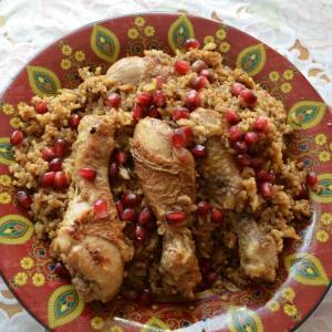 Рецепты арабской кухни - Иранский фесенджан плов