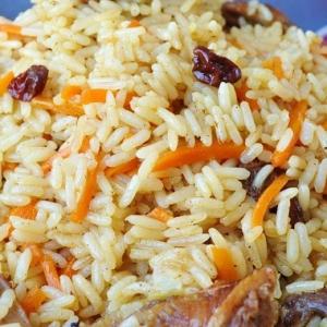 Рецепты иранской кухни - Иранский плов