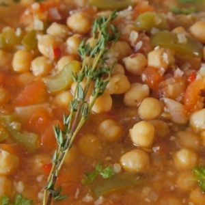 Нут - Испанская овощная похлебка Потахе