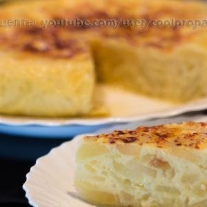 Рецепты испанской кухни - Испанская тортилья де пататас