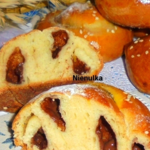 Рецепты средиземноморской кухни - Испанские булочки с шоколадным пудингом