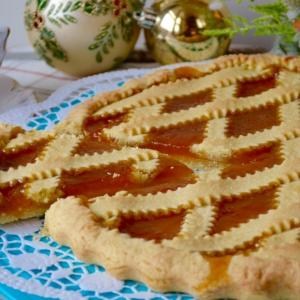 Рецепты итальянской кухни - Итальянская кростата с джемом