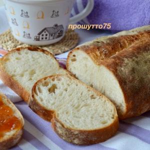 Рецепты итальянской кухни - Итальянский белый хлеб