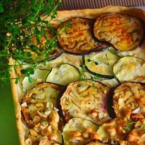 Кабачок - Кабачково-баклажанный пирог