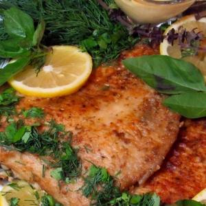 Рецепты итальянской кухни - Камбала по-сицилийски
