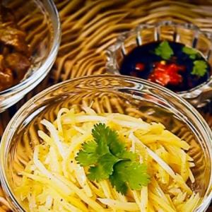 Рецепты корейской кухни - Камдича-картофельный салат