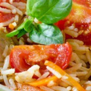 Рецепты китайской кухни - Кантонский рис