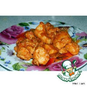 Рецепты индийской кухни - Карри с курицей