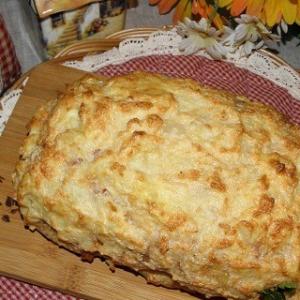 Мясо - Картофельно-мясной хлеб