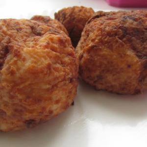 Картофель - Картофельные шарики с белыми грибами
