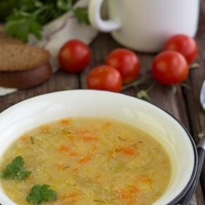 Розмарин - Картофельный суп с кукурузной крупой