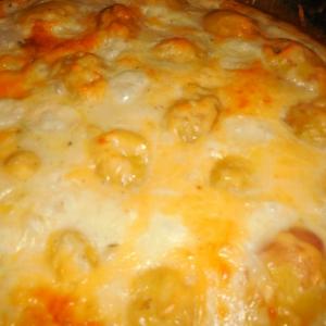 Рецепты гарниров - Картофель под соусом Бешамель