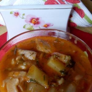 Сморчки и строчки - Картофель с фасолью и грибами