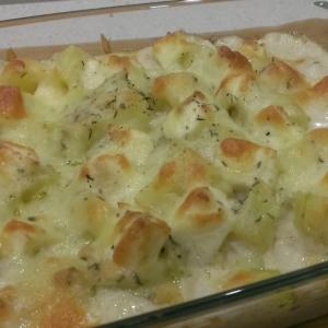 Масло сливочное - Картофель с сыром и соусом бешамель