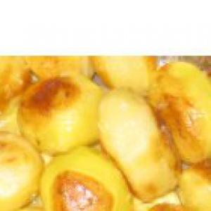 Пользователи - Картошка запеченная с чесночком и маслом