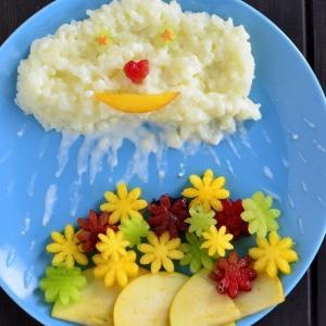 Персик - Каша рисовая Облачко
