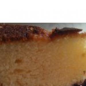 Черника - Кекс с черникой
