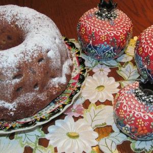 Миндаль - Кекс с изюмом Султанский пирог