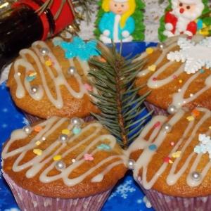 Печень - Кексы Новогодние