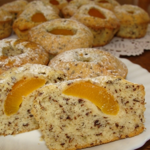 Масло сливочное - Кексы с абрикосами и шоколадом