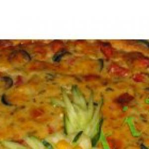 Шалфей - Киш с овощами