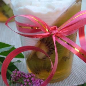 Киви - Киви в йогуртовом желе