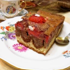 Ваниль - Клубничный пирог для подружек
