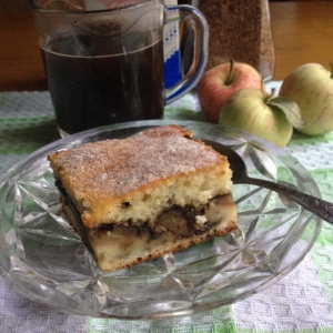Кефир - Кофейно-яблочный пирог
