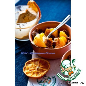 Бобы - Кокот с шоколадными блинчиками и мандаринами