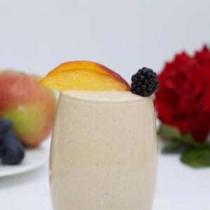 Мороженое - Коктейль из печеных яблок и овсянки
