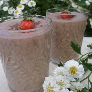 Клубника - Коктейль На завтрак