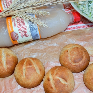 Мята - Колобки ржано-пшеничные на квасе