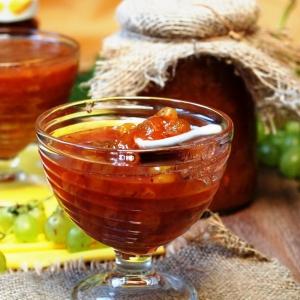 Виноград - Конфитюр из зеленого винограда