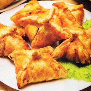 Рецепты из теста - Конвертики с телятиной и моцарелой