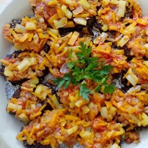 Вегетарианская кухня - Котлеты из баклажанов