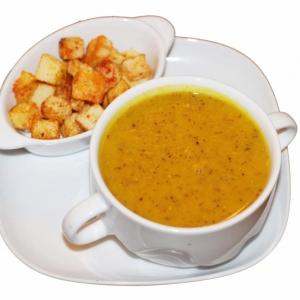 Рецепты из бобовых - Крем-суп из чечевицы
