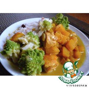 Рецепты индийской кухни - Курица карри