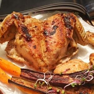 Баклажан - Курица пери-пери и запеченные овощи Осенние