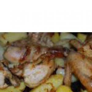 Рецепты арабской кухни - Курица по-мароккански