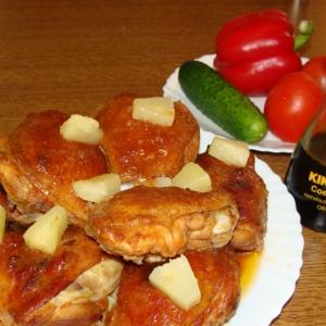 Имбирь - Курица по-полинезийски